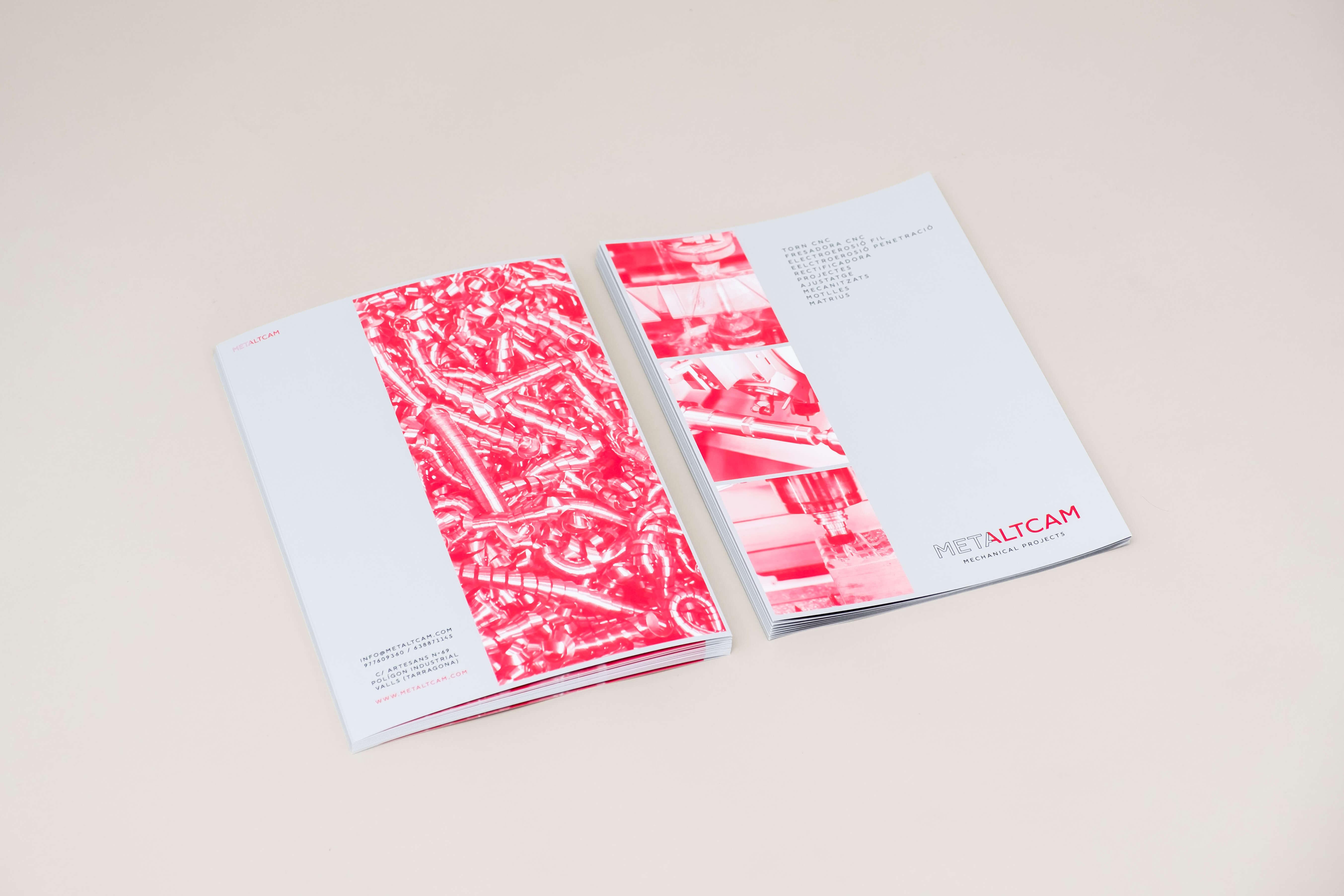 disseny brochure empresa valls