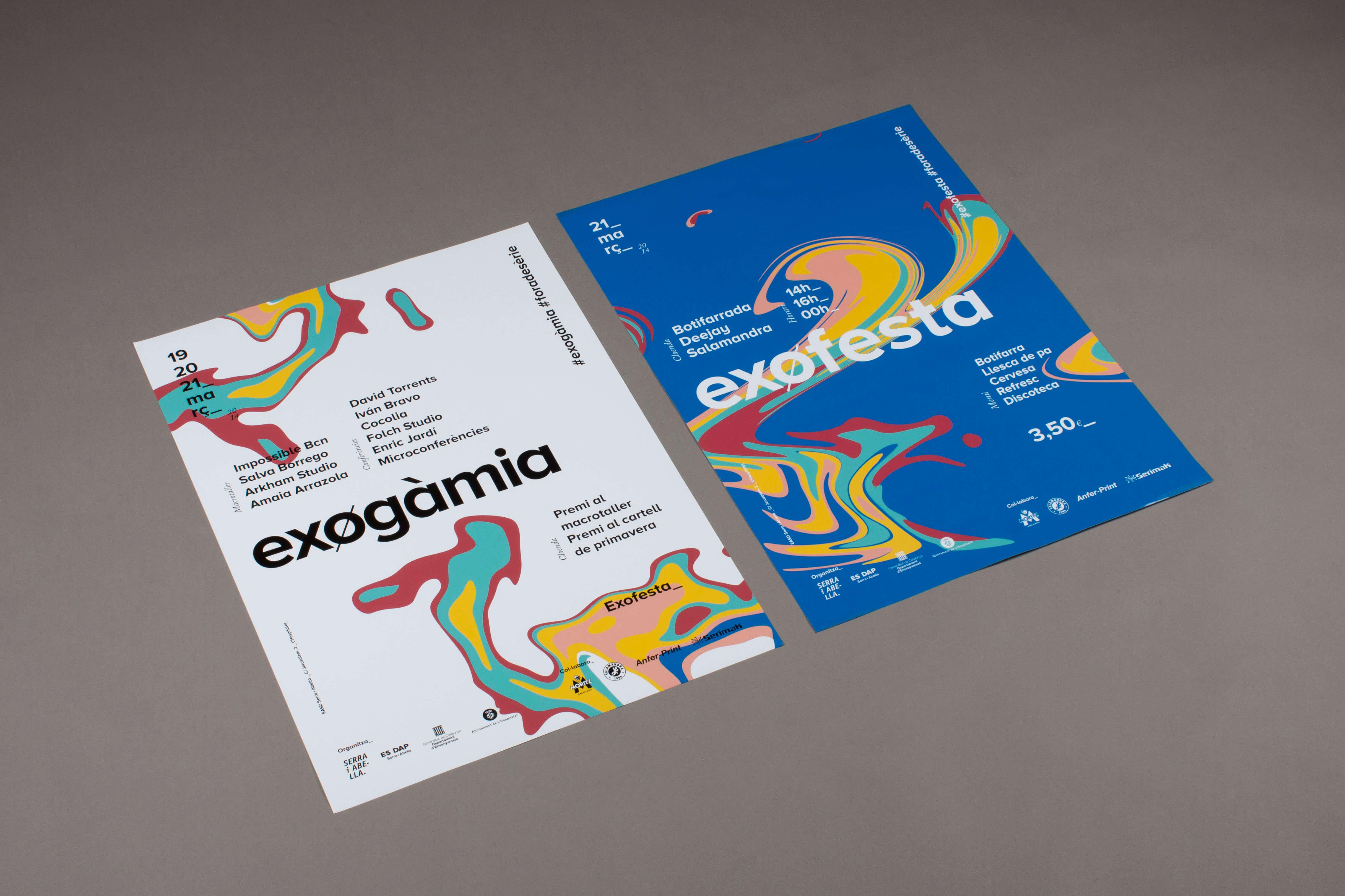 disseny cartell festival